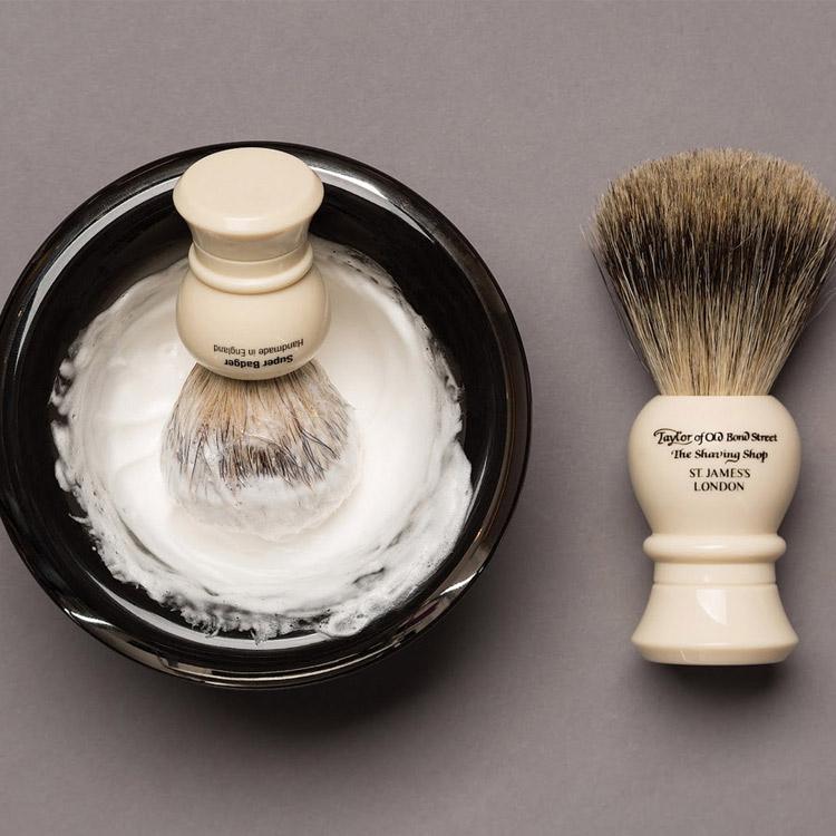 Taylor of Old Bond Street Lime Zest Shaving Cream Bowl 150 g