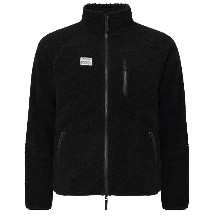 Resteröds Fleece Jacket Zip Black