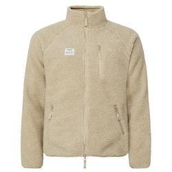 Resteröds Fleece Jacket Zip Beige
