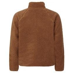 Resteröds Fleece Jacket Zip Camel
