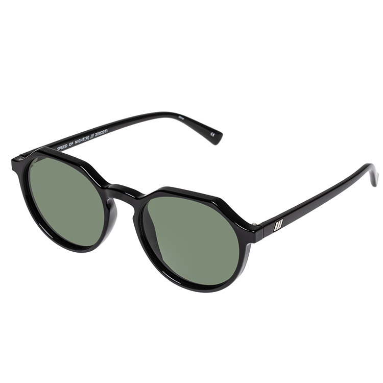 Le Specs Speed of Night Black Polarized