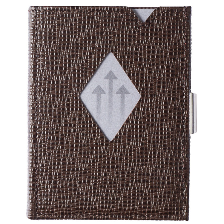 Exentri Wallet Mosaic Brown