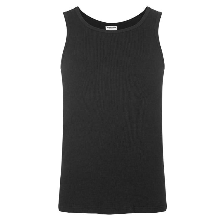 Resteröds Tank Top Organic Cotton 2-pack Black