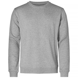 Resteröds Sweatshirt Bamboo Grey Melange