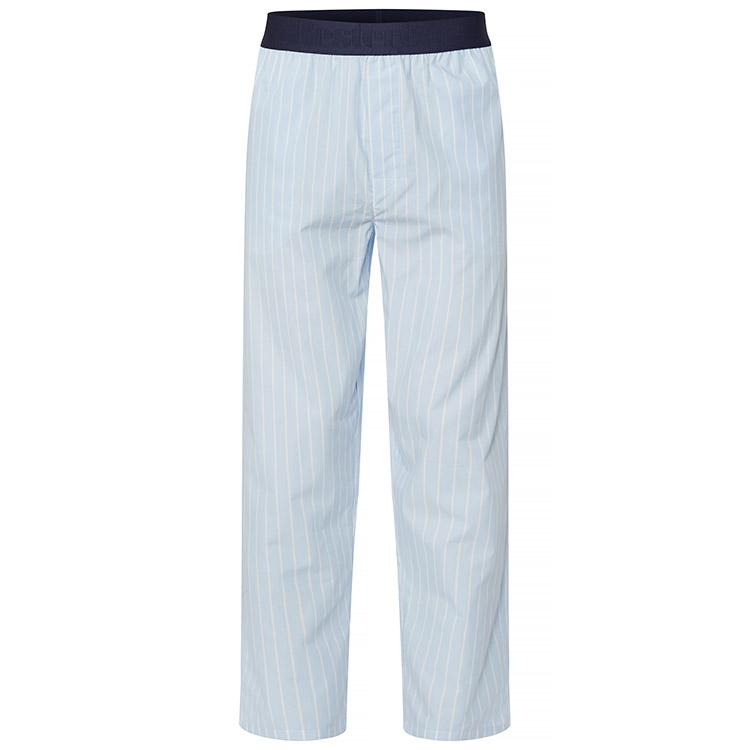 Resteröds Woven Pyjama Pants Sky Blue