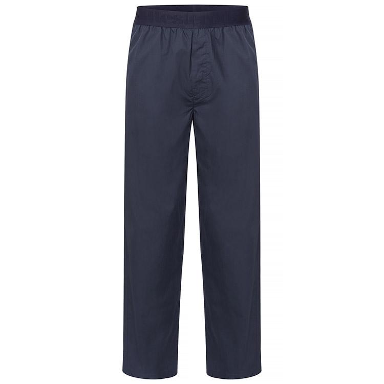 Resteröds Woven Pyjama Pants Navy