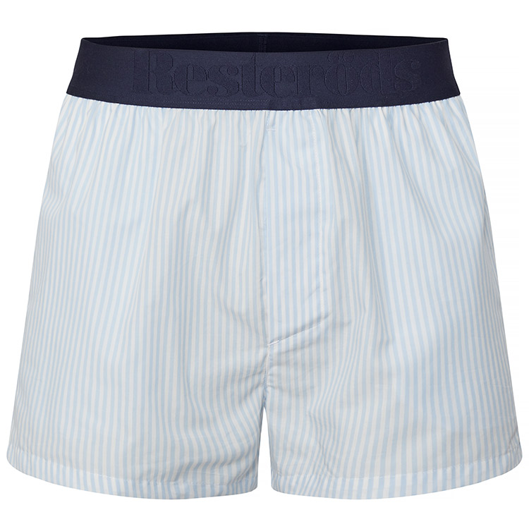 Resteröds Woven Pyjama Shorts Classic Stripe