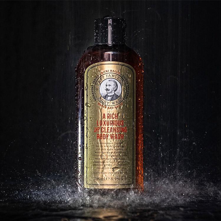 Captain Fawcett Ricki Hall's Booze & Baccy Body Wash