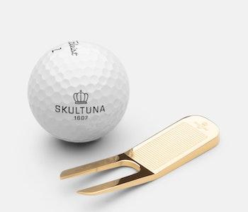Skultuna Greenlagare Gold plated