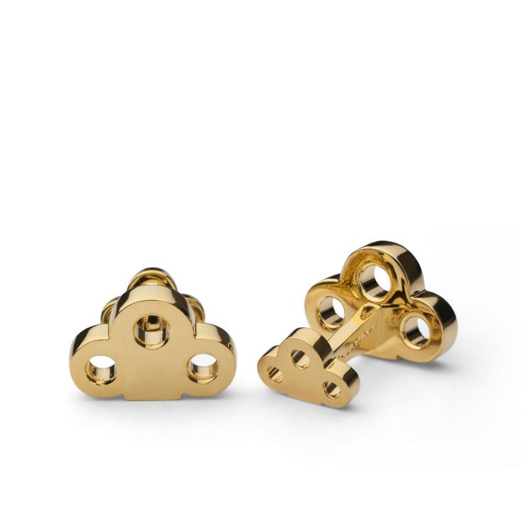 Skultuna Key Cuff Links Gold