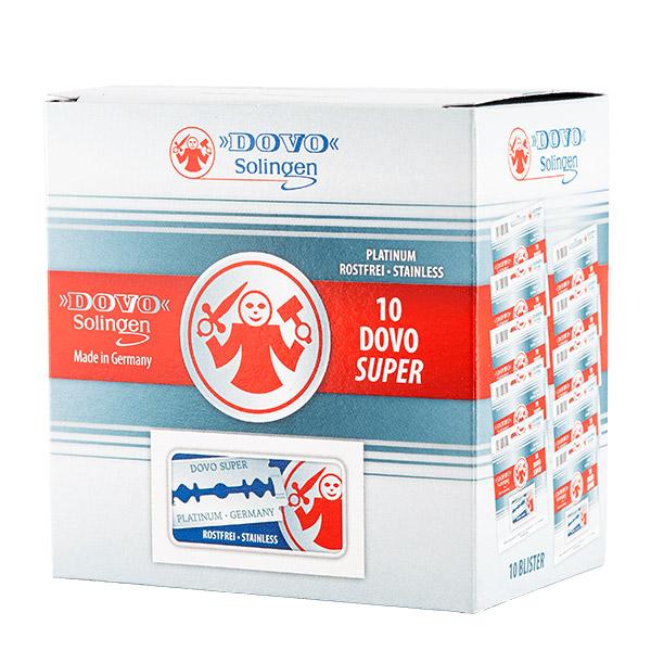 Dovo Super Platinum Dubbelrakblad 100-pack