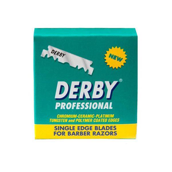Derby Professional Single Edge Razor Blades 100-p