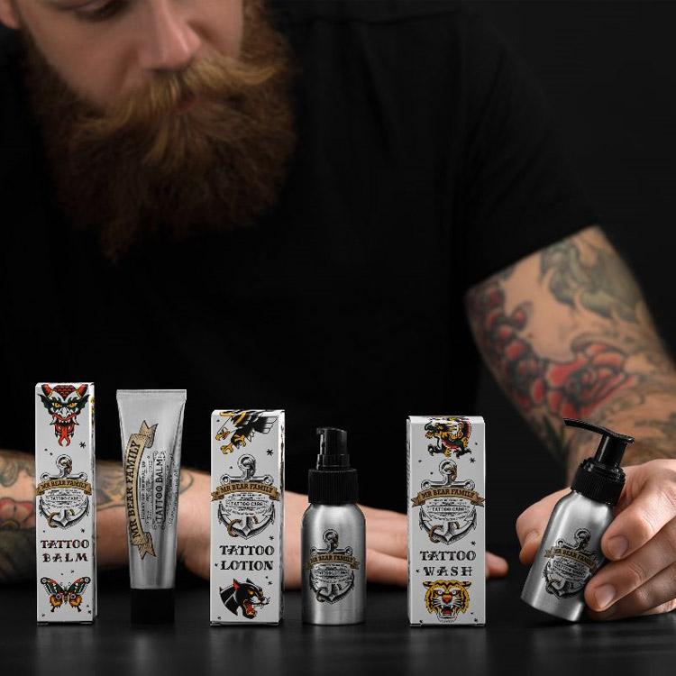 Mr Bear Family Tattoo Lotion