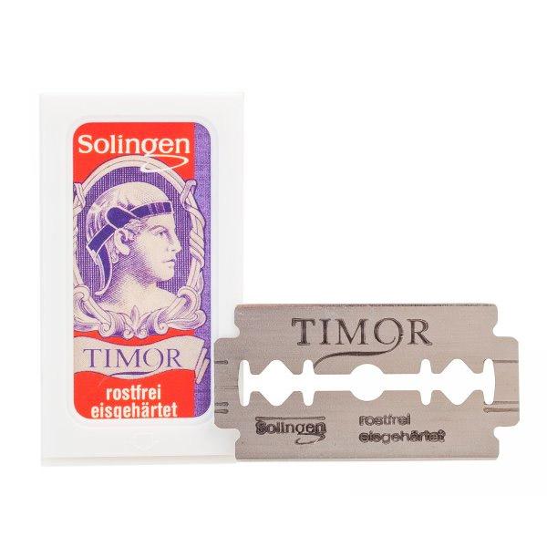 Solingen Timor Dubbelrakblad 10-pack
