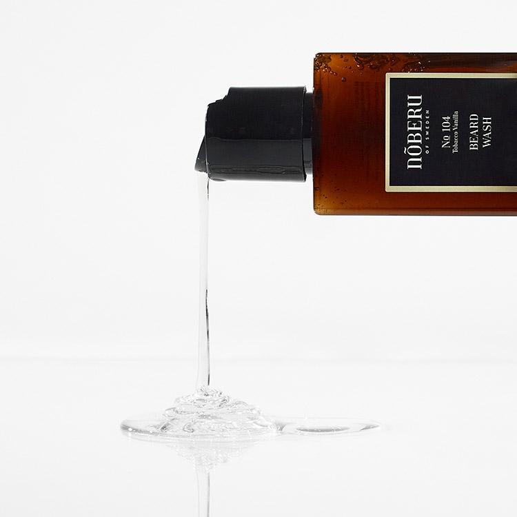 Nõberu of Sweden Beard Wash Tobacco Vanilla