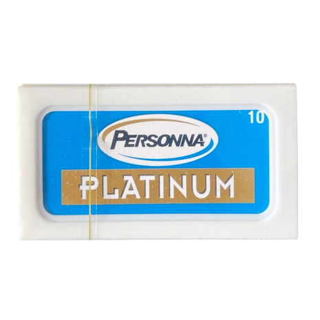 Personna Platinum Chrome Dubbelrakblad 10-pack