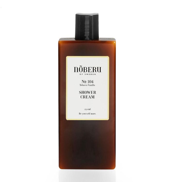 Nõberu of Sweden Shower Cream Tobacco Vanilla 250 ml