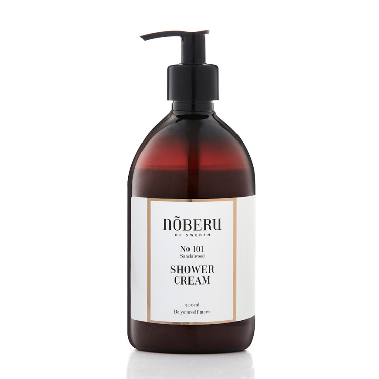 Nõberu of Sweden Shower Cream Sandalwood 500 ml