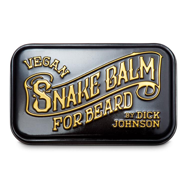 Dick Johnson Excuse My French Beard Balm Snake Balm