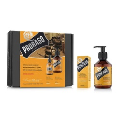 Proraso Gift Set Duo Wood & Spice Beard Oil + Wash