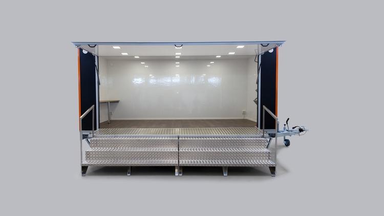 Foodtruck Foodtrailer öppetkök Glassvagn