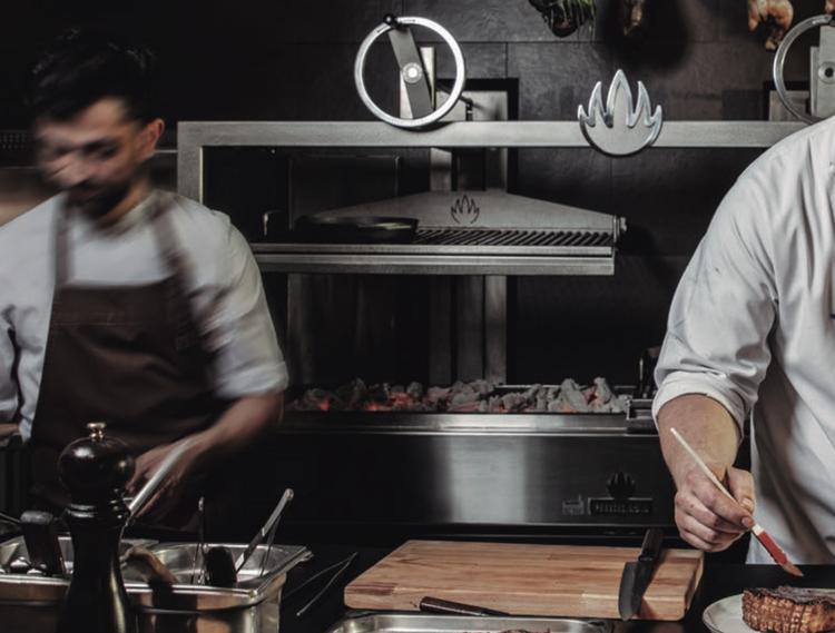 Mibrasa Parrilla, öppen restauranggrill (flera storlekar)