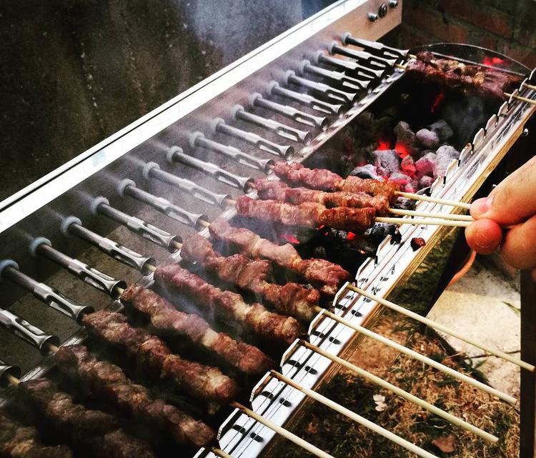Kolgrill Tecnoroast 40 Grillspetts Rotisserie