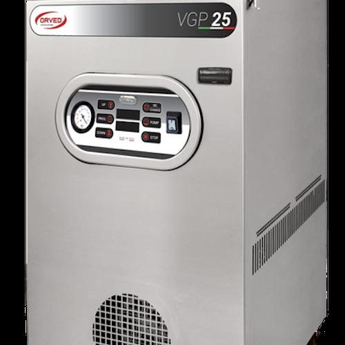 Orved VGP25, förslutningsmaskin med enkel användning