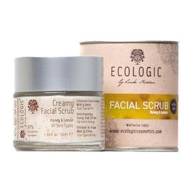 CREAMY FACIAL SCRUB · Honey & Lemon   50 ml.   (plus gratis 5 ml prov)