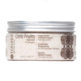 CITRIC FRUITS BODY SCRUB · Sweet Orange & Olive Stone   200 ml