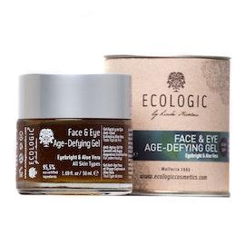 FACE & EYE AGEDEFYING GEL · Eyebright & Aloe Vera.  50 ml   (plus gratis 5 ml prov)