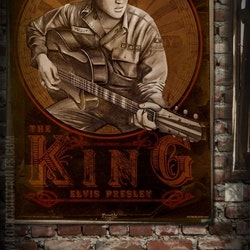 Poster Young Elvis