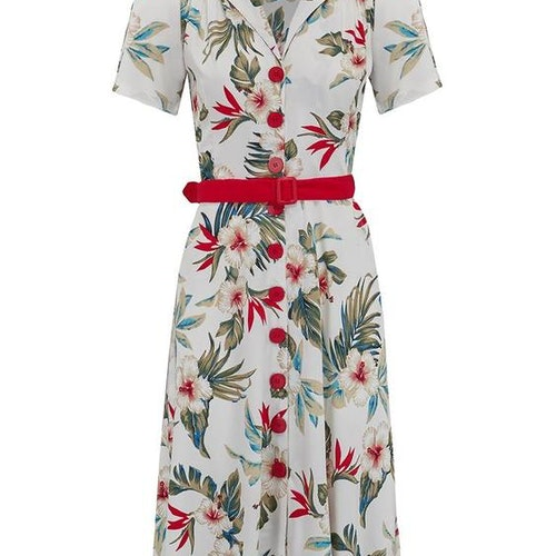 Charlene Shirtwaister Dress Hawaiian