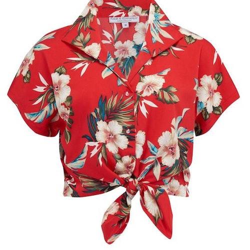 """Maria Blus """"Red Hawaiian"""""""
