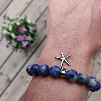 Armband - blue spot