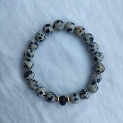 Armband - dalmatiner jaspis