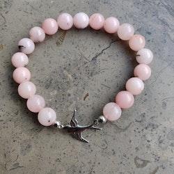 Armband - jasper körsbärsblom