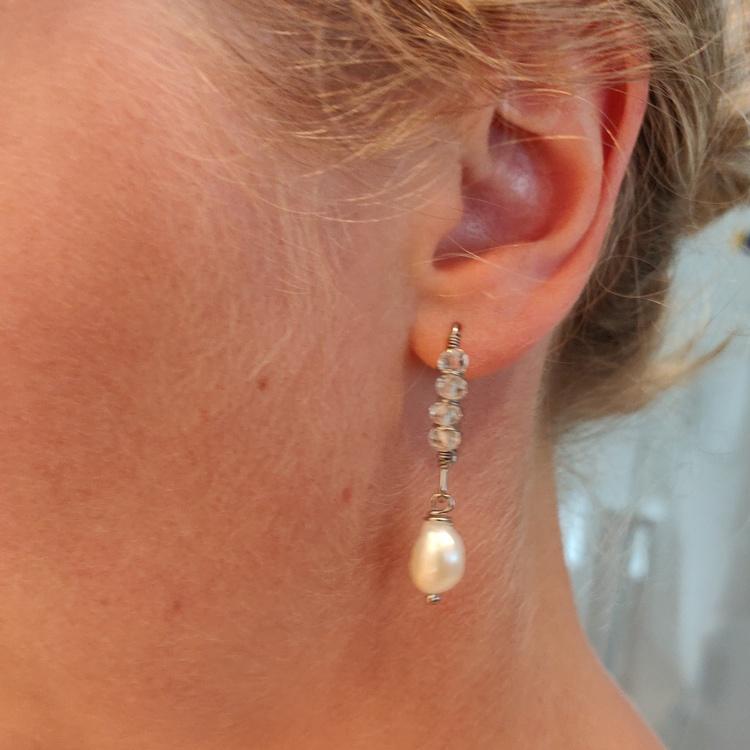 Örhängen - långa örkrokar