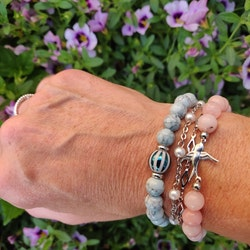 Armband - marmorerade