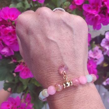 Armband - blandade stenpärlor