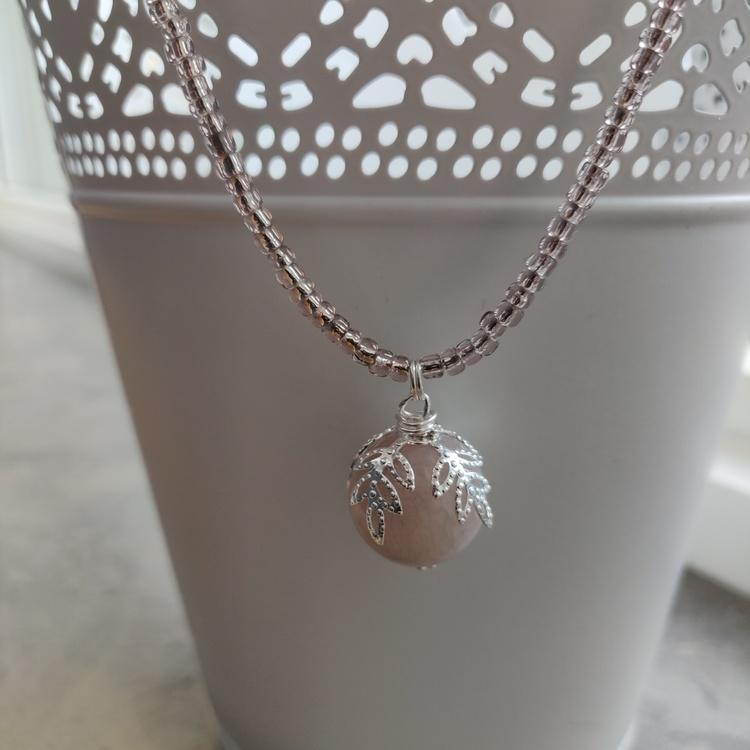 Halsband - pärlor