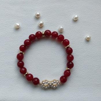 Armband - stenpärlor