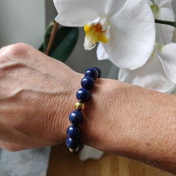 Armband - lapis lazuli