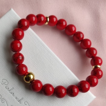 Armband - marmor