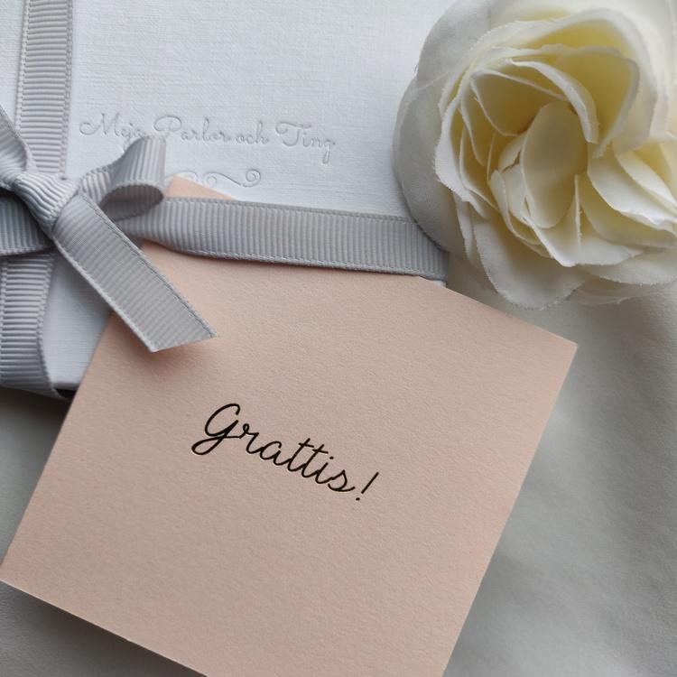 Cards By Jojo - Grattis