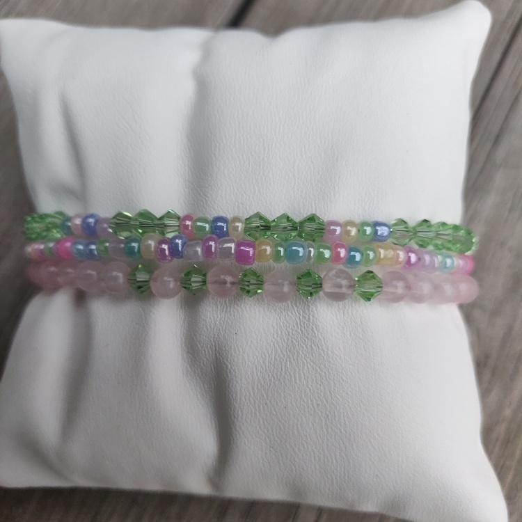 Armband - rosenkvarts