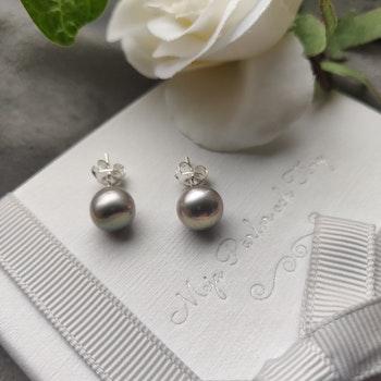 Örhängen - örstift i sterling silver