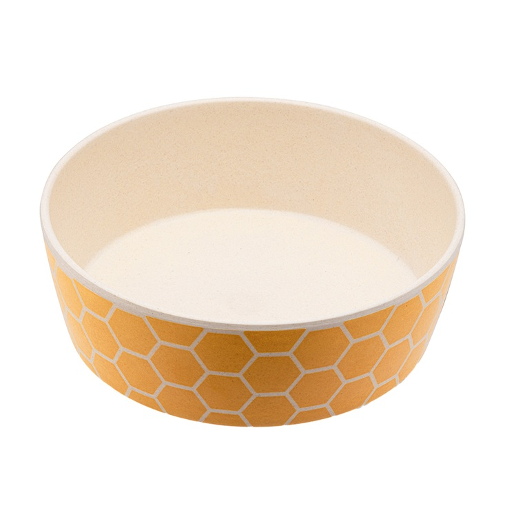 Beco Classic Bamboo Bowl, Honeycomb