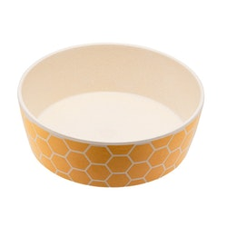 Beco Classic Bamboo Bowl, Honeycomb