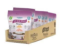 * Serrano Snacks, Anti Hairball, Salmon & Tuna, 50 gr. *
